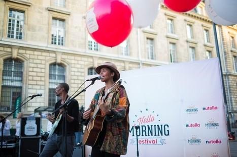 Nutella vous réveille en musique avec le Hello Morning Festival   streetmarketing   Scoop.it