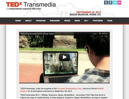 New TEDxTransmedia website launched where you can register | Tracking Transmedia | Scoop.it