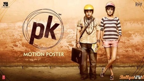 Check out the 4th motion poster of Peekay (PK) Ft Anushka Sharma   justbollywood   Scoop.it