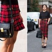 DIY INSPO: TARTAN SKIRTS | Fashion DIY | Scoop.it