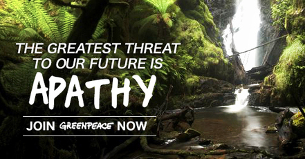 Join the movement for a #green and #peaceful #future today.  Pls join #Greenpeace | Rescue our Ocean's & it's species from Man's Pollution! | Scoop.it