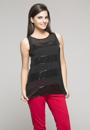 Keep your look lively as you wear this tops, in black coloured, from the house of ITI. Fashioned using georgette, this tops will keep you at comfort all day long. Designed to perfection, this class... | Buy  Women Shirts‎ on itibeyou.com | Scoop.it