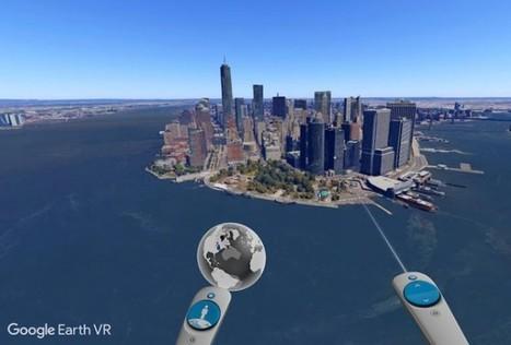 Google lanza Google Earth VR, para volar por el mundo en Realidad Virtual | ikt-Arizmendi | Scoop.it