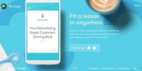Primer. Google vous donne des cours de marketing – Best Outils | Les outils du Web 2.0 | Scoop.it