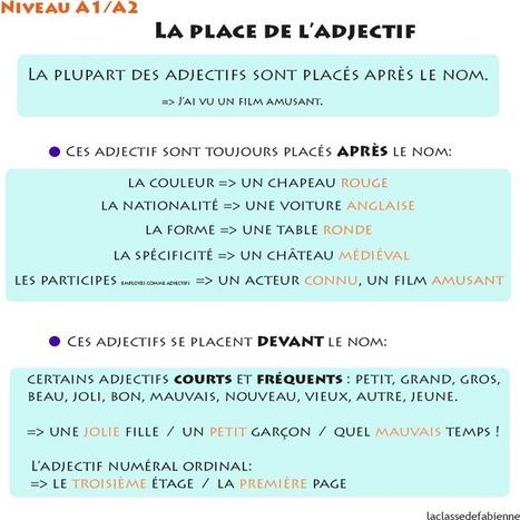 La classe de Fabienne | Conny - Français | Scoop.it