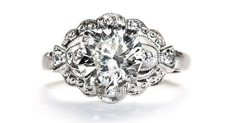 Art Deco Engagement Rings: Are They a Good Design For You? | Vintage Engagement Rings | Scoop.it