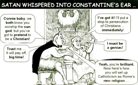 "Constantine and all his ""Pagan Coins"", a little evidence. 