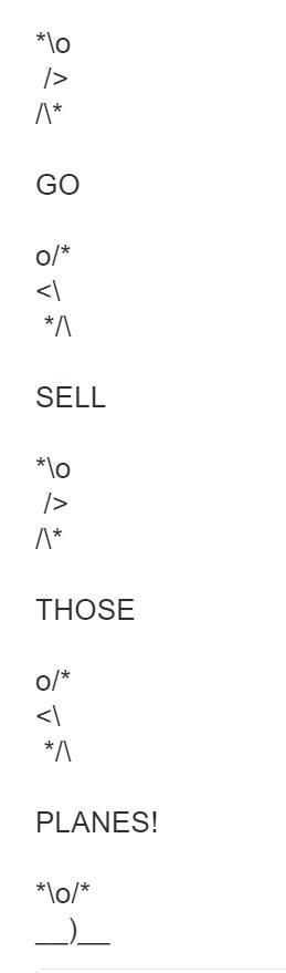 Tweet from @awudrick | ASCII Art | Scoop.it