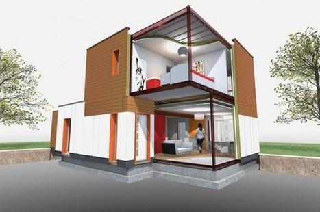 Le vendéen Cougnaud, numéro 1 français de la construction modulaire, vise l'habitat social   Foncier : Aménageons autrement   Scoop.it