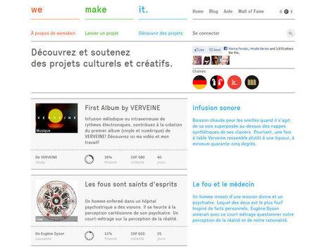La FINMA s'attaque au «Crowdfunding» - Bilan | crowdfunding | Scoop.it