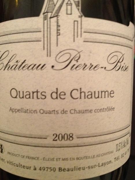 Pierre Bise - Quarts de Chaume 2008 | Vignerons de la Loire | Scoop.it