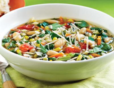 Soupe consistante aux haricots et aux verdures à l'italienne | livre de recettes faciles | Scoop.it