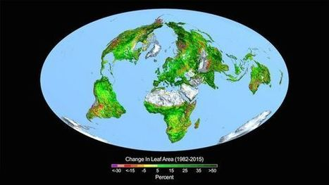 Earth Gets Greener as Globe Gets Hotter | Archaeology, Culture, Religion and Spirituality | Scoop.it