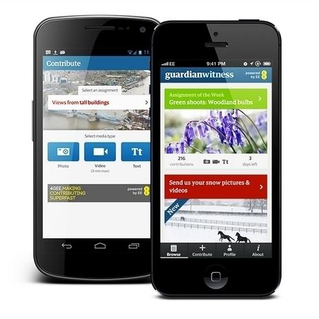 Aplicación de The Guardian permitirá a ciudadanos colaborar con periodistas | Periodismo Digital 2013 | Scoop.it