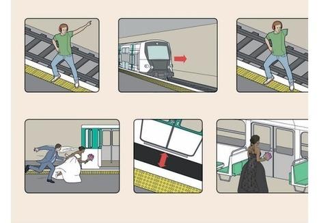 (Buzz) L'étonnante campagne de prévention de la RATP   AS2.0 - 13   Scoop.it
