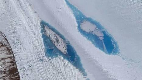 La formación de lagos azules en la Antártida alarma a los científicos - Ecoportal.net | Agua | Scoop.it