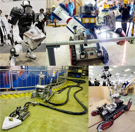 Meet the robots of Fukushima, going where humans fear to tread | Robotics | Scoop.it