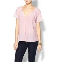 Joie Delmar Silk Top – Peony | MARC NEW YORK BLACK CAP SLEEVE SWEETHEART NECK SHEATH DRESS | Scoop.it