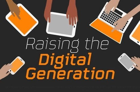 Tablets, Mobile, Internet And Social Media – Raising The Digital Generation [INFOGRAPHIC] - AllTwitter | Digital-News on Scoop.it today | Scoop.it