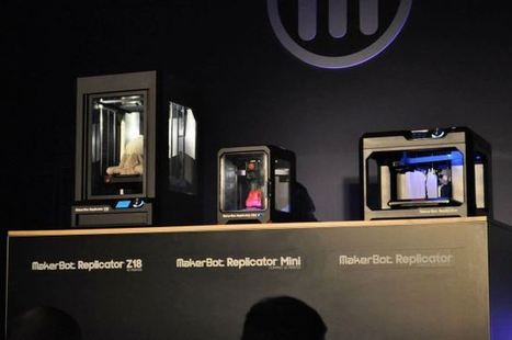 MakerBot Unveils The Replicator Mini, Z18, And A New Prosumer Replicator | 3D Printing and Fabbing | Scoop.it