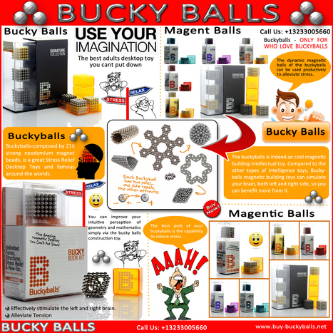 Bucky Balls | BuckyBalls | Scoop.it