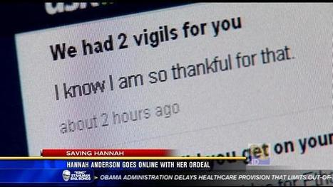 Hannah Anderson's online conversation about her ordeal - KFMB News 8 | Self Defense | Scoop.it