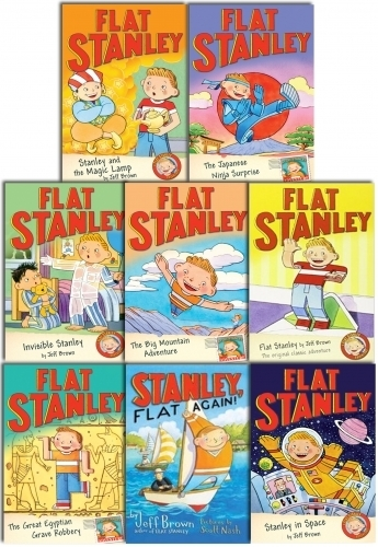 Flat Stanley Collection 8 Books Set Pack | Snazal Books, Leicester | Scoop.it