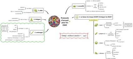 Mind map : protocole d'accueil pour les ENAF | Classemapping | Scoop.it