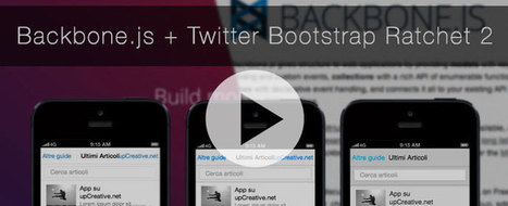 Semplice HTML5 mobile app con Backbone.js e Ratchet 2 | Webdesign | Scoop.it