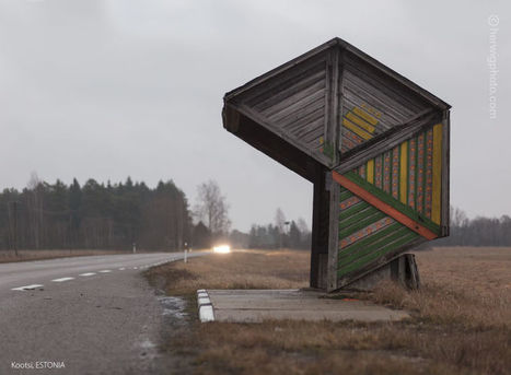 These Bus Stops Left Over From the Soviet Union Are So Wonderfully Bizarre | Strange days indeed... | Scoop.it