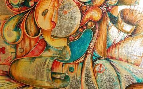 BitPremier — Bitcoin-Art Painting by Stefania Nistoreanu | Bitcoin Litecoin | Scoop.it
