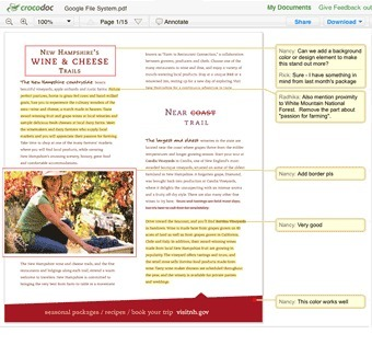 Comment on, edit, and fill PDF files, Word documents, images and more | Crocodoc | Education Technology @ NWR7 | Scoop.it