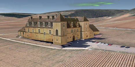 900 ans après les moines de Cîteaux, Google Earth reconstruit en 3D le Château du Clos de Vougeot | Merveilles - Marvels | Scoop.it