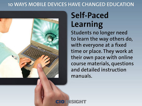 10 Ways Mobile Devices Have Changed Education | Moodle and Web 2.0 | Scoop.it