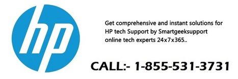 1-855-531-3731 Improved Troubleshooting with Third party HP service | TECHNICAL SUPPORT | Scoop.it