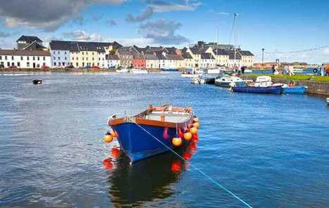"Galway is ""Ireland's most charming City"" according to New York Times 