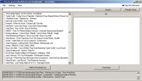 Grooveshark downloader : téléchargez vos musiques sur Grooveshark | Télécharger et écouter le Web | Scoop.it