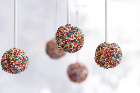 Recipes from the world - Cake pops versione disco! | Recipes from the world on Scoop! | Scoop.it