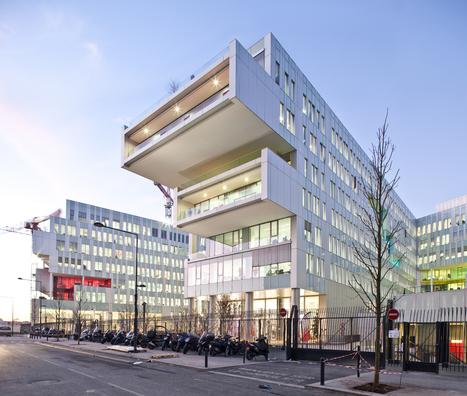 Le nouveau siège de SFR, un bâtiment ultra connecté - Batiweb.com | Technologies & Usages | Scoop.it