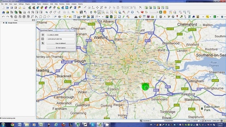 QGIS - Using Coordinate Capture Plugin | Everything is related to everything else | Scoop.it