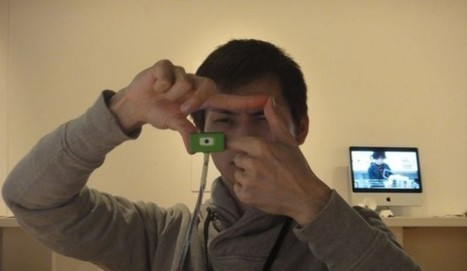 Tiny Ubi-Camera relies on your hands and face to frame a photo | VIM | Scoop.it