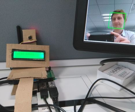 Who is at the coffee machine? Facial Recognition using Raspberry Pi, OpenCV and Sigfox | FabLab - DIY - 3D printing- Maker | Scoop.it