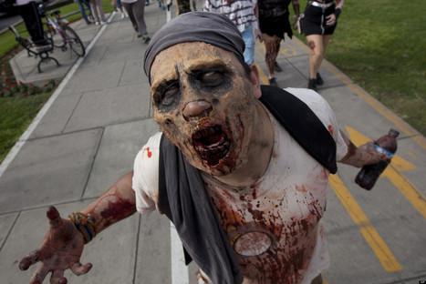 AH! 'Zombies' Invade University Of Michigan | Strange days indeed... | Scoop.it
