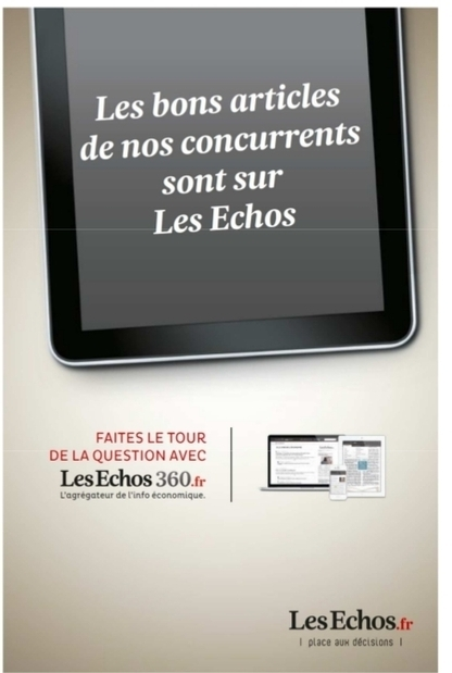 Les Echos lance un nouveau site de curation : Les Echos 360 | Innovation & Co | Scoop.it