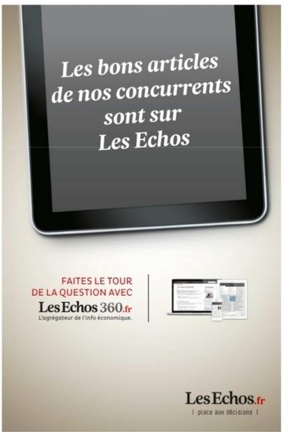 Le journal Les Echos lance un nouveau site de curation: Les Echos 360 | Les médias face à leur destin | Scoop.it