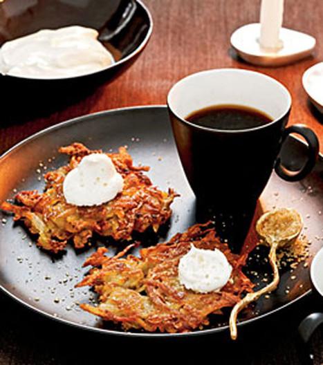 Potato Apple Latkes | MakeYourRecipes | Recipes | Scoop.it