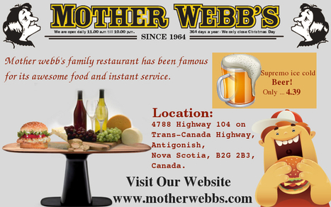 Visit Mother Webb's Restaurant to Dine with Your Family | motherwebbs | Scoop.it