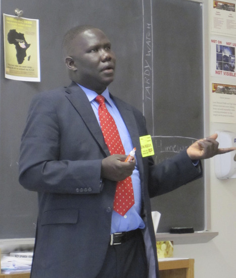 'Lost Boy of Sudan' Gabriel Bol Deng returns to Lenox school to share his life ... - Berkshire Eagle | Education in South Sudan | Scoop.it