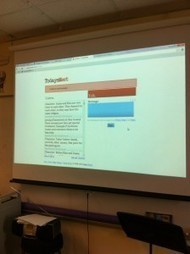 Using TodaysMeet in my English 8 Classroom | Developing the writer | Scoop.it