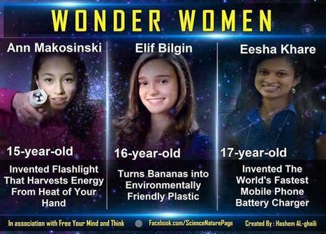 Girls in Science | Teaching Teens Science | Scoop.it